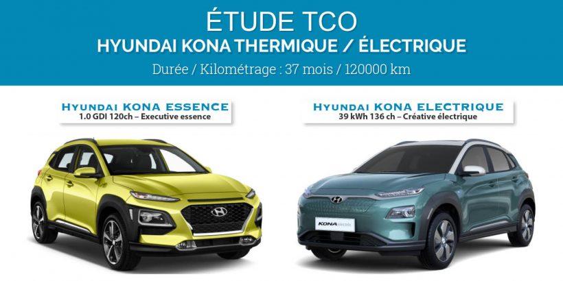 Article étude TCO Kona Essence / Electrique