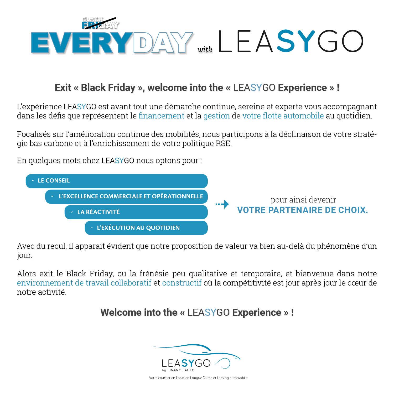 Leasygo Experience
