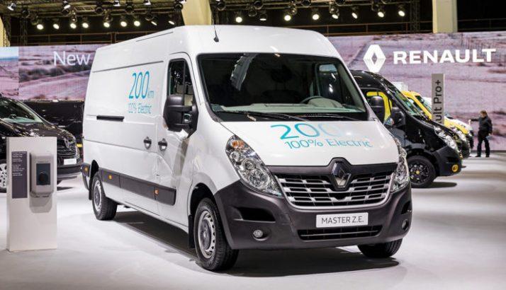 Renault VU électrique leasing
