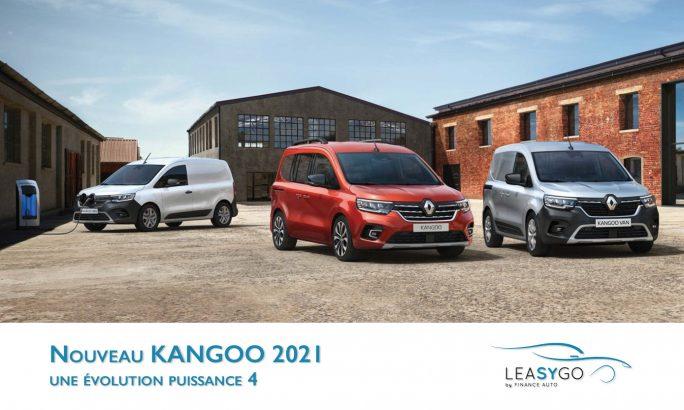 nouveau Kangoo leasing véhicule utilitaire